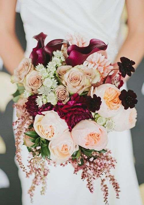 Cranberry and Camel Wedding