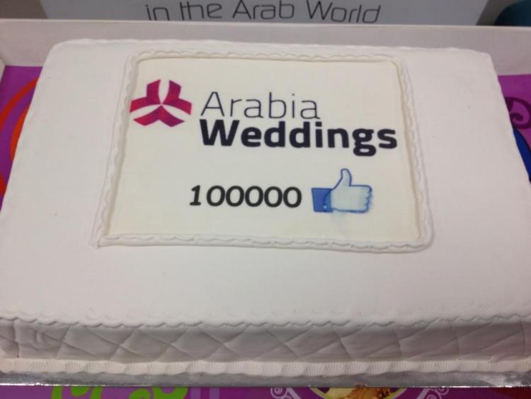 Arabia Weddings Celebrates 100,000 Facebook Fans