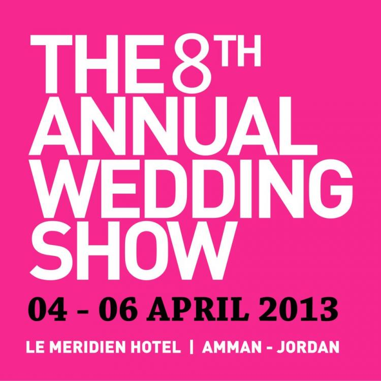 Jordan's 8th Annual Wedding Show Kicks off on 4 April with Support from Arabia Weddings