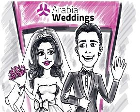 Arabia Weddings' Content All Over The Media