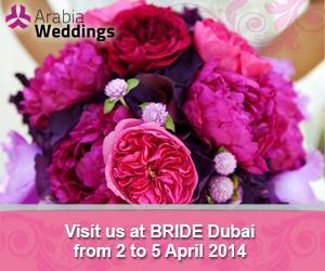 Arabia Weddings Participates in Bride Dubai 2014
