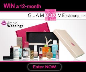 Arabia Weddings and GlamBox ME Launch Contest for Saudi Arabia and UAE