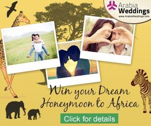 Arabia Weddings Launches GCC Honeymoon Contest to Africa!