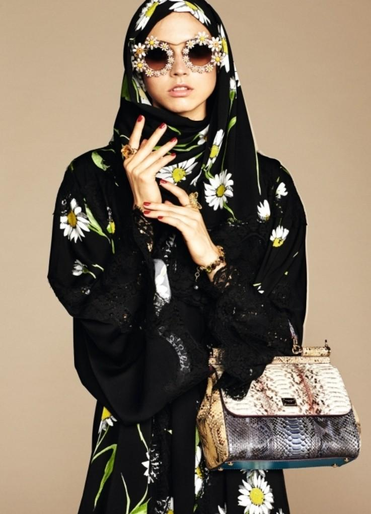 Dolce & Gabbana Launch Hijab And Abaya Collection To Middle East Market