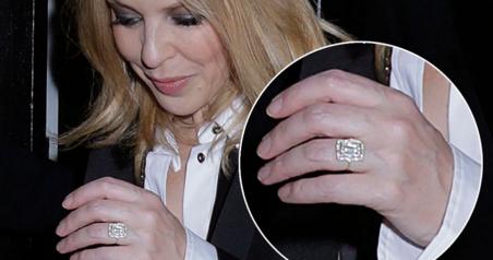 Kylie Minogue Sparks Wedding Rumors