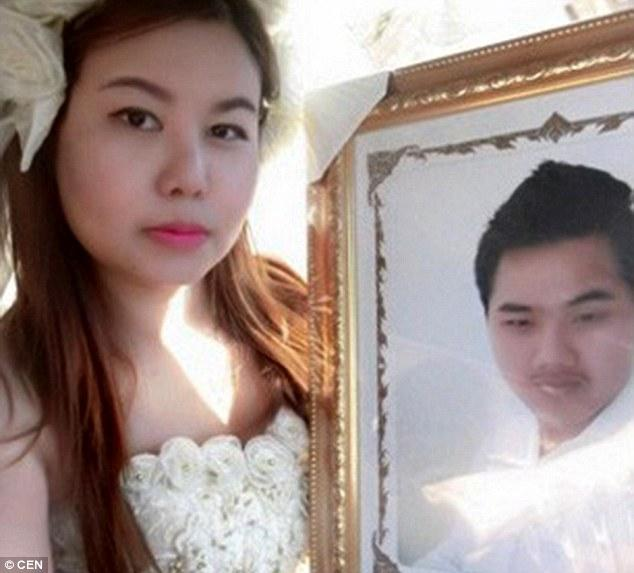 Thai Woman Marries Dead Fiance