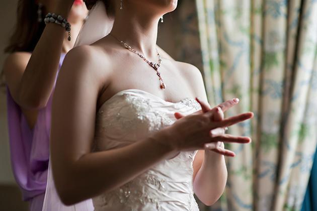 Bride Almost Dies From Pre-Wedding Nerves
