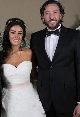 Syrian Actress Kinda Hanna Celebrates Her Marriage Anniversary