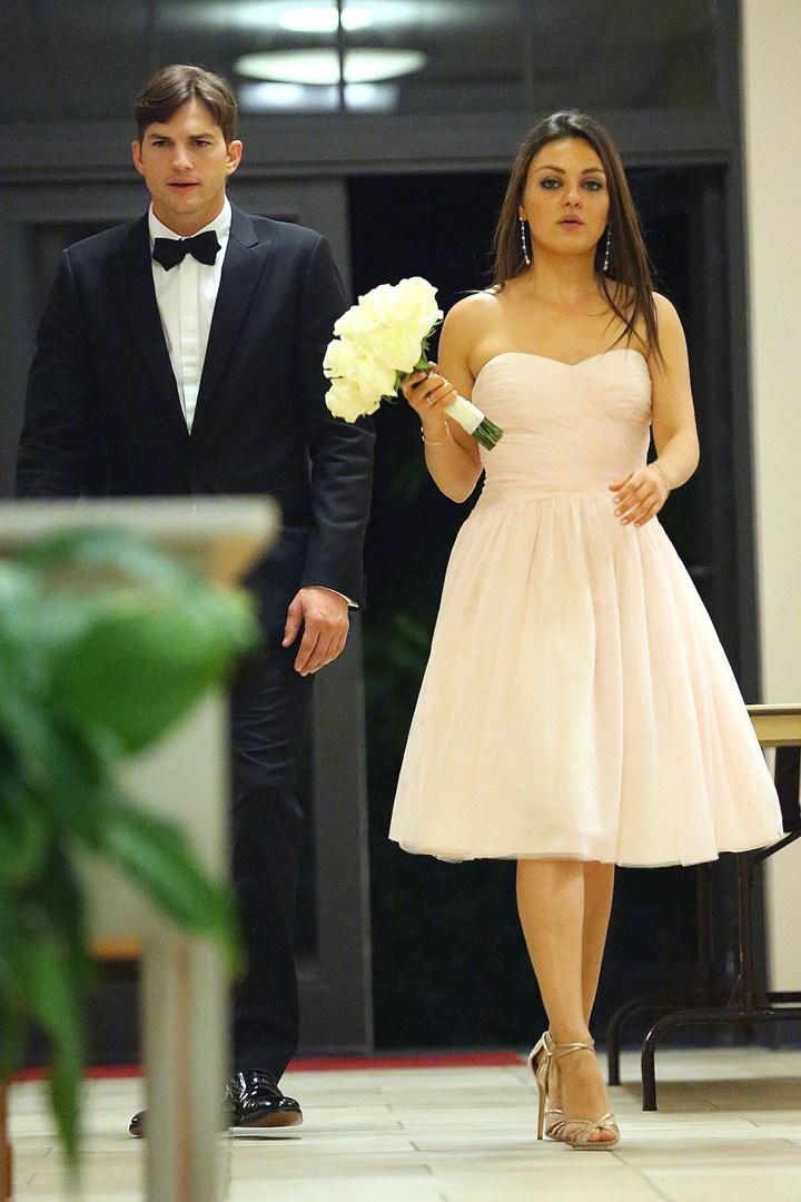 Ashton Kutcher Discuses Details About His Secret Wedding