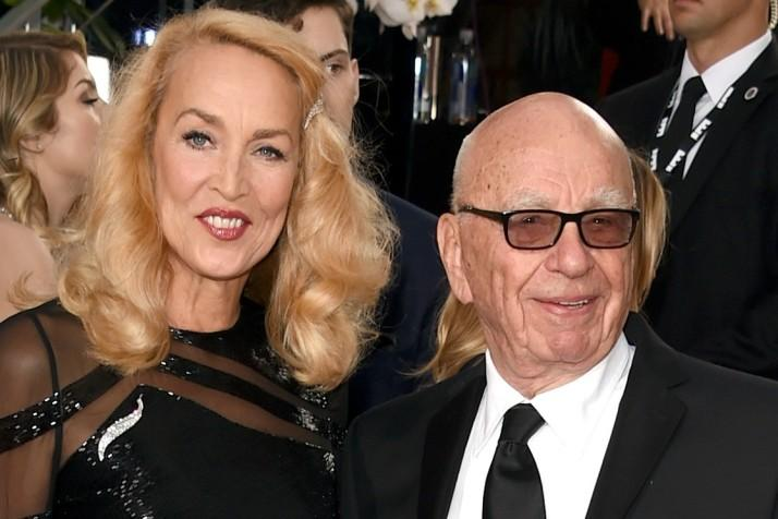Rupert Murdoch and Jerry Hall Getting Married This Weekend