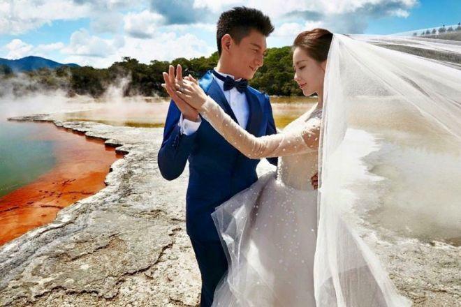 Nicky Wu and Cecilia Liu Hold a Grand Wedding in Bali