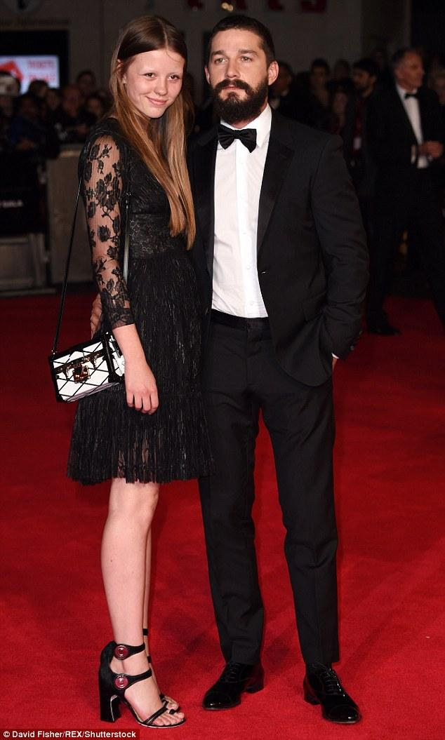Shia LaBeouf and Mia Goth are Officially Engaged!