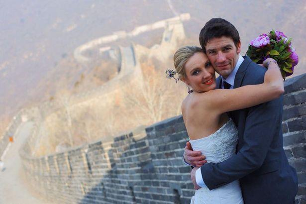 Bride and Groom Marry in 8 Different Countries