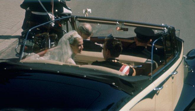 Rarely Seen Pictures From Grace Kelly's Wedding
