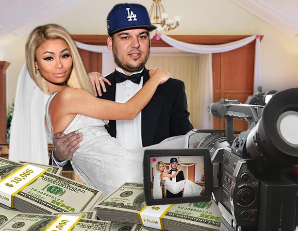 Rob Kardashian and Blac Chyna Planning a Wedding TV Special Worth Millions