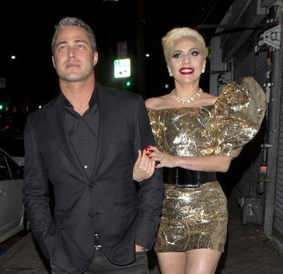 Lady Gaga and Taylor Kinney Wear Matching Rings