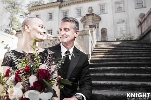 Breathtaking Photo Shoot For Bride with Cancer