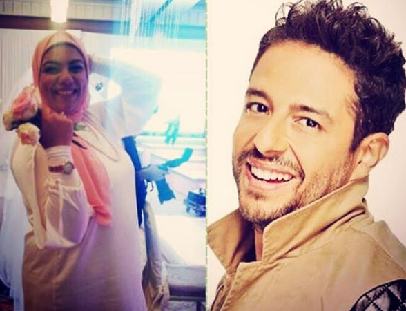 Egyptian Bride to Be Invited Mohamed Hamaki to Her Wedding