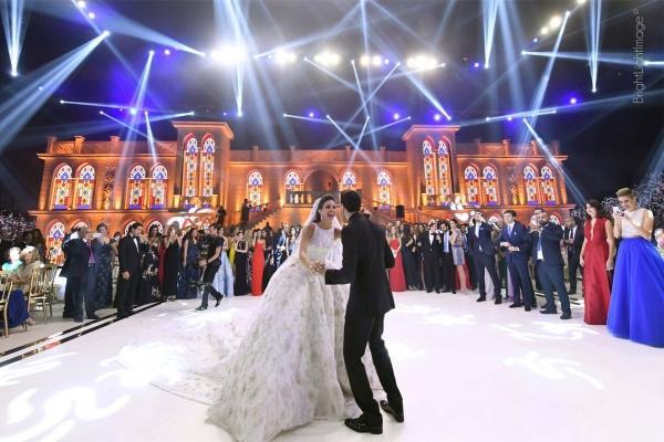 Luxury Wedding For The Son Of Former Lebanese Minister Ghazi Aridi