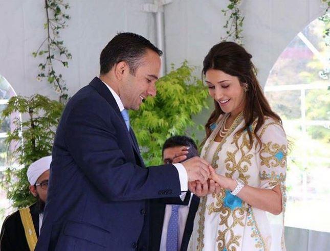 Son Of Princess Basma Gets Married