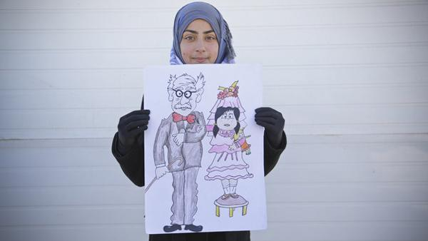 Syrian Refugee Waging A Campaign Against Child Marriage In Zaatari Camp