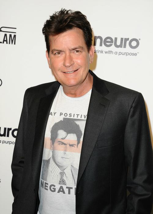 Charlie Sheen Reveals His Wedding Gift From Donald Trump