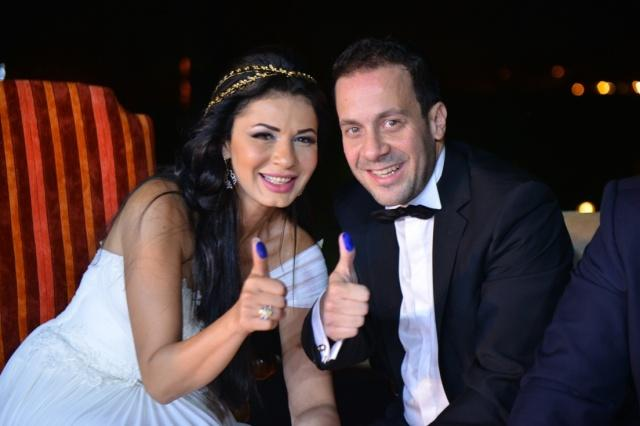 Pictures: The Marriage of Egyptian Actress Naglaa Badr