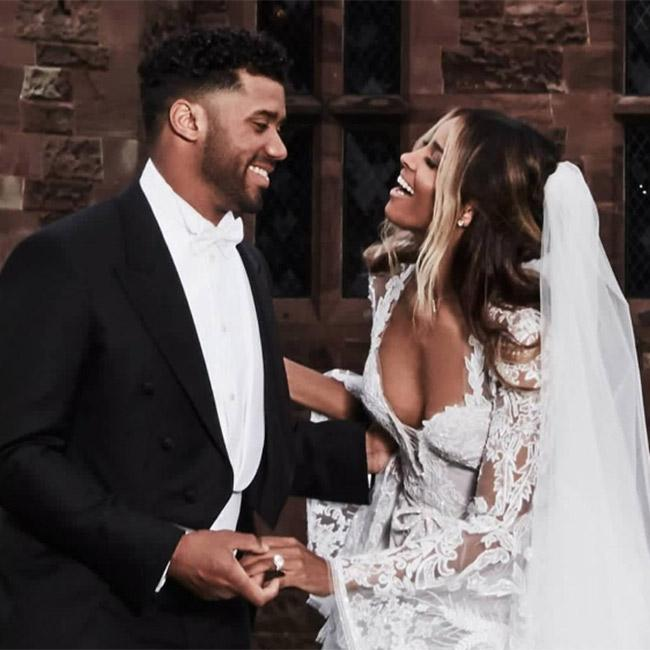 Ciara and Russell Wilson Share Their Wedding Pictures
