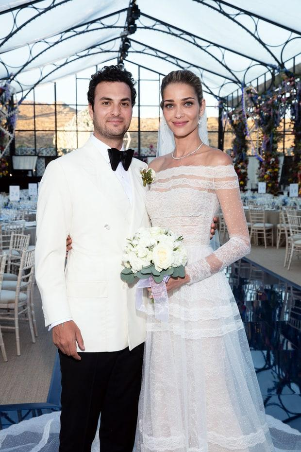 Model Ana Beatriz Barros Married Karim El Chiaty