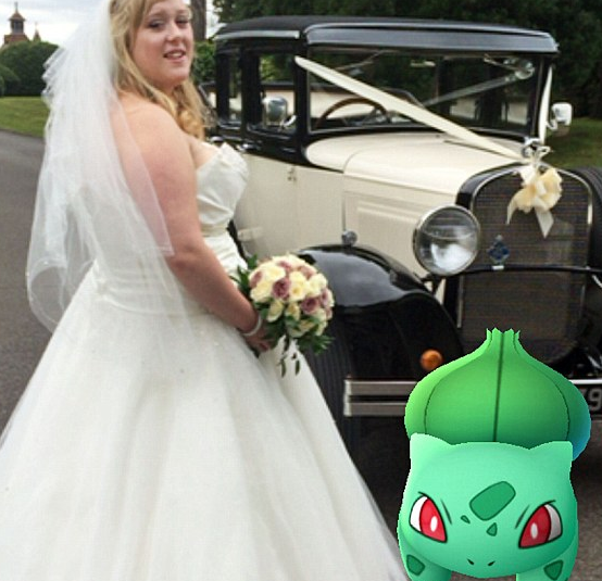 Bride Discovers Her Venue is a Pokemon Go Hot Spot
