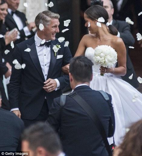 Man United's Bastian Schweinsteiger Gets Married