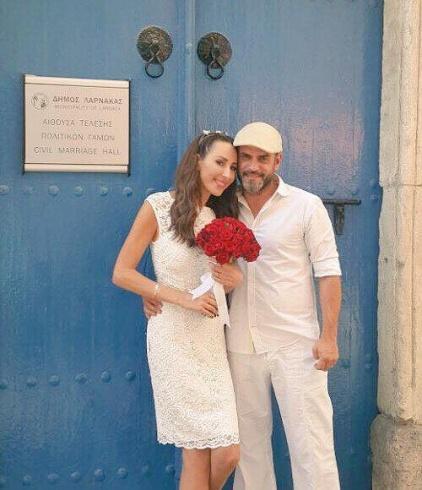 Ward Al Khal Gets Married in Greece