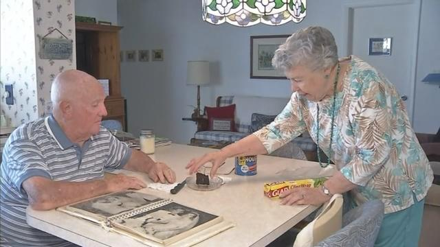 Couples Eats Original Wedding Cake After 61 Years
