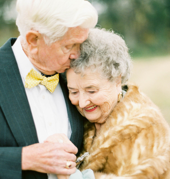 Grandparents Celebrate 63 Years of Marriage in Unique Photoshoot