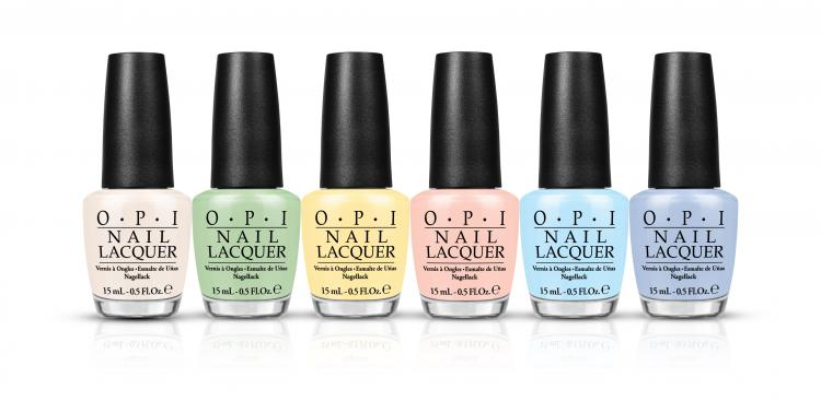 OPI Releases Soft Shades for 2016