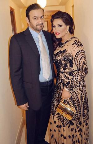 Ahlam Celebrates Her Husband's Birthday