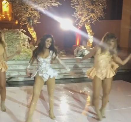 Video: Melissa Molinaro Rocks Beyonce Routine at Wedding
