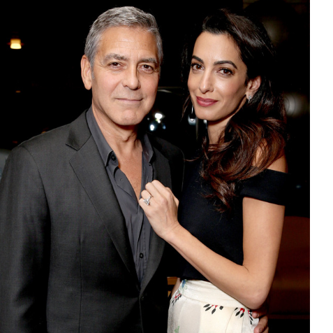 George Clooney Cooked Dinner For Amal On Their Second Anniversary