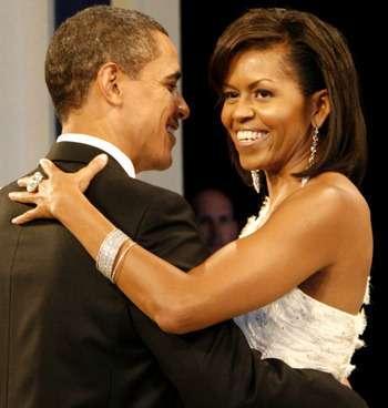 Barack Obama and Michelle Obama Celebrate Anniversary