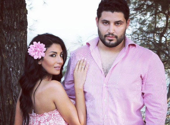Rouwaida Attieh's Engagement Pictures Revealed