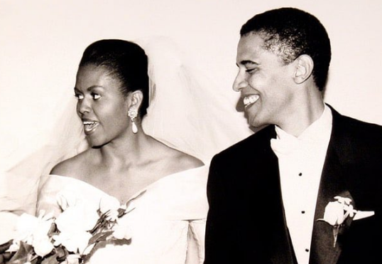 Pictures from Barack and Michelle Obama's Wedding Photo Shoot