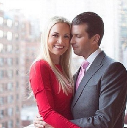 Donald Trump Junior Celebrates Wedding Anniversary