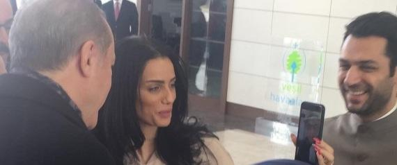 Erdogan Helps Turkish Actor Propose to Moroccan Beauty