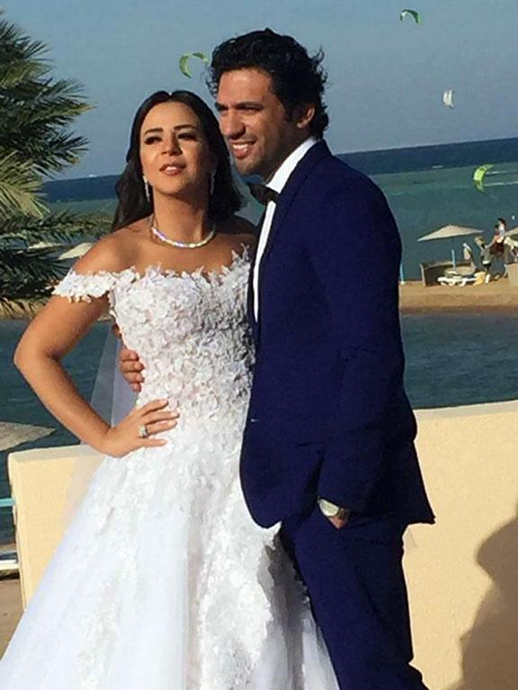 First Pictures of Hassan El Raddad and Amy Samir Ghanem After Their Wedding