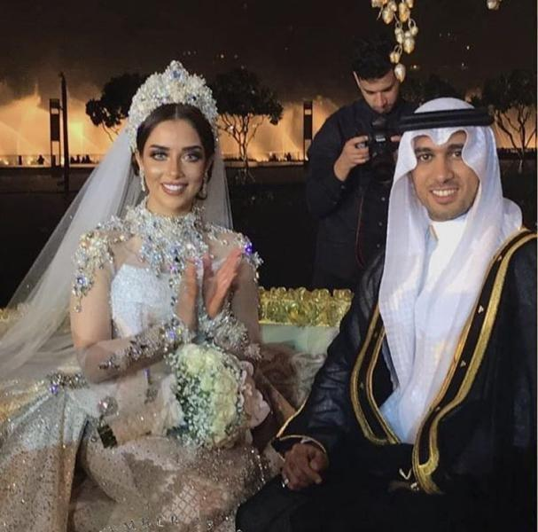 First Pictures of Balqees Fathi's Wedding