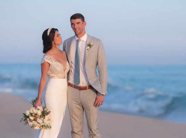 Video: Michael Phelps and Nicole Johnson's Wedding Details Revealed