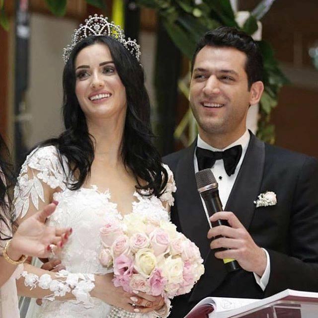 Pictures: Murat Yildirim Gets Married to Imane El Bani