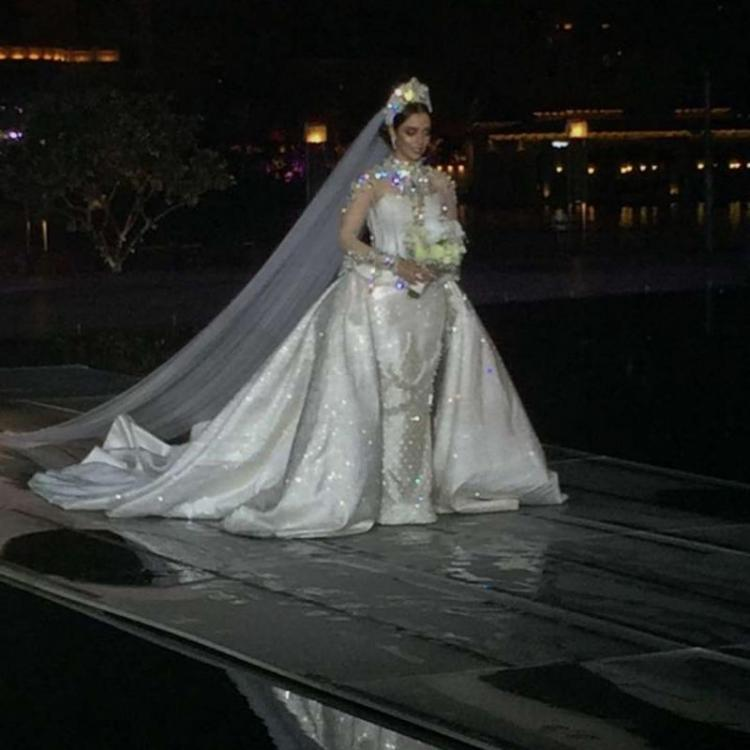 Balqees Fathi Shares Behind The Scenes Wedding Video
