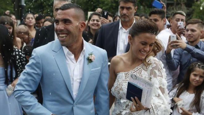 Carlos Tevez House Robbed During Wedding