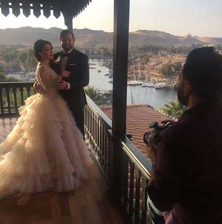 Video: Kinda Alloush and Amr Youssef's Wedding